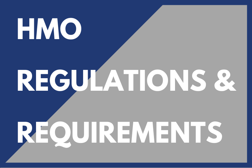 HMO Regulations & Requirements
