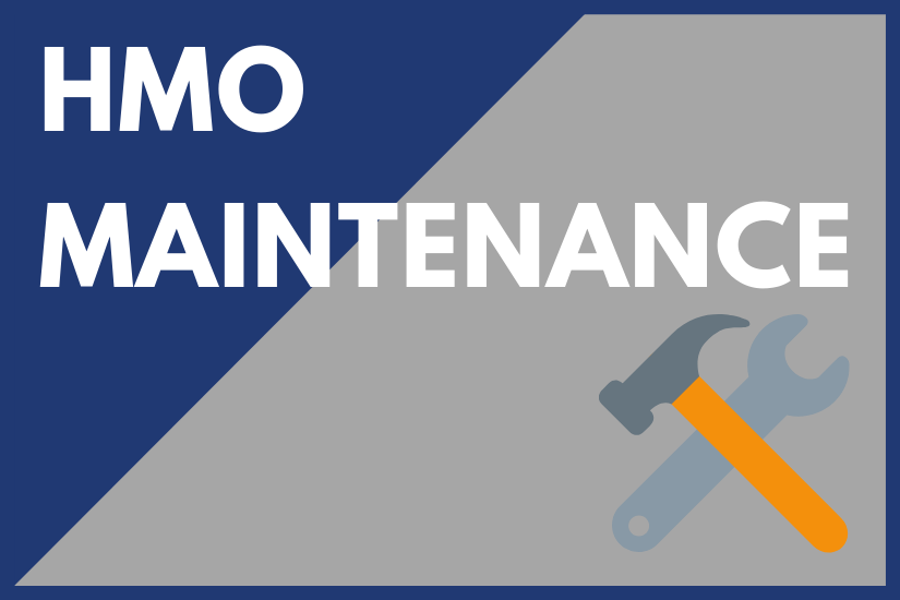 HMO Maintenance