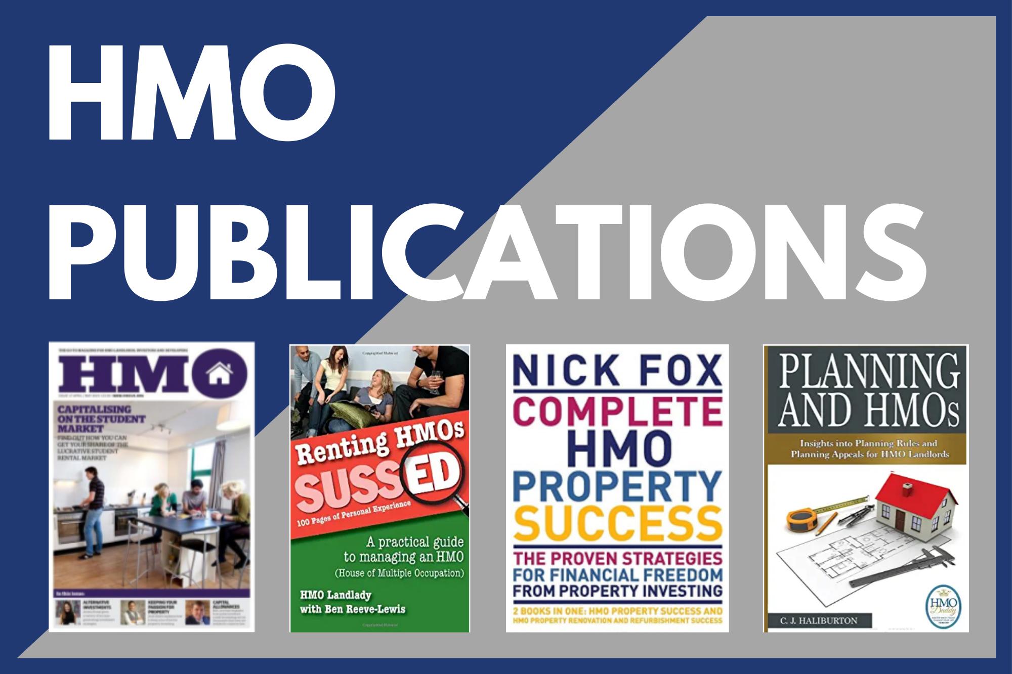HMO Books & Publications