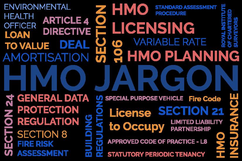 HMO Property Jargon
