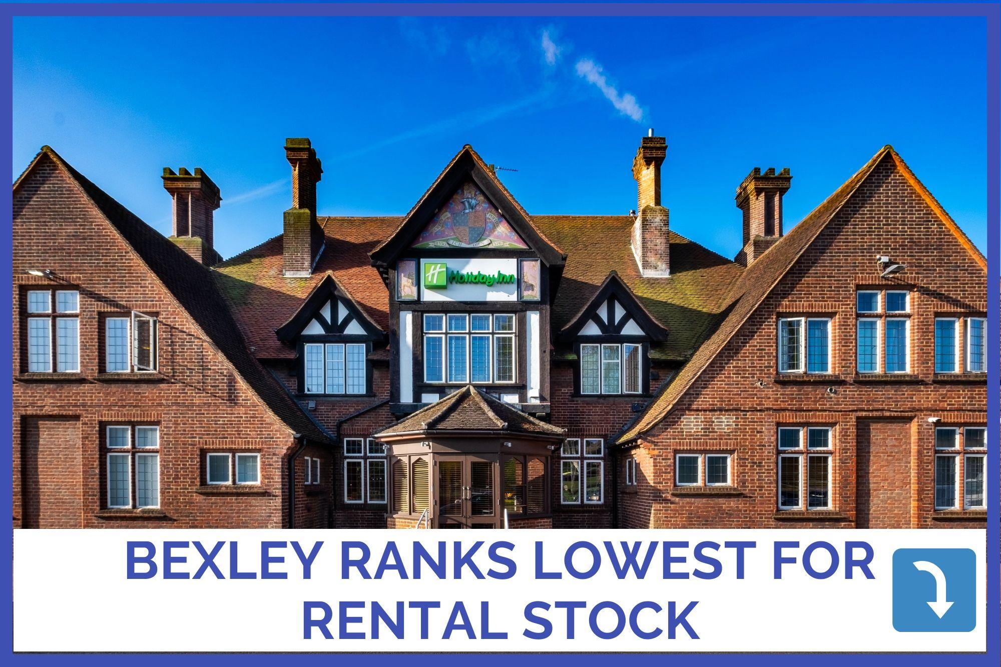 BEXLEY RANKS LOWEST FOR RENTAL STOCK