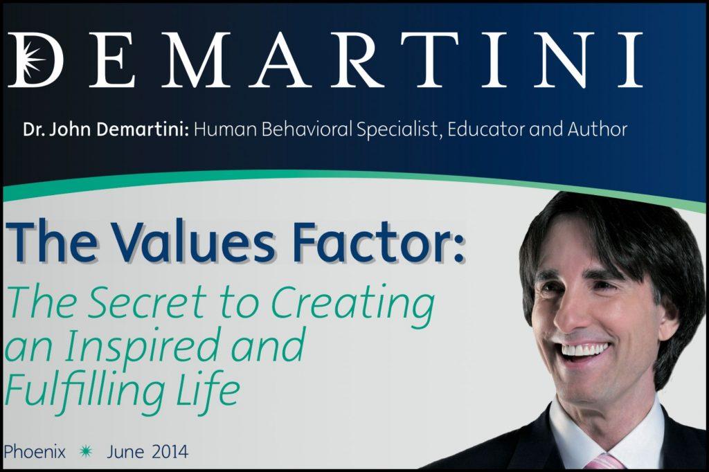 Dr. John Demartini - The Values Factor