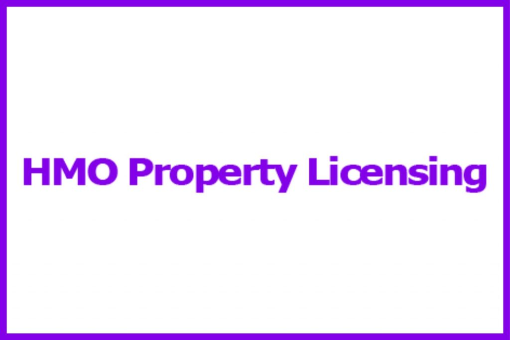 HMO Property Licensing