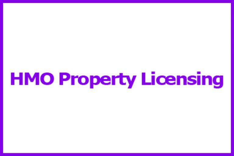HMO Property Licensing