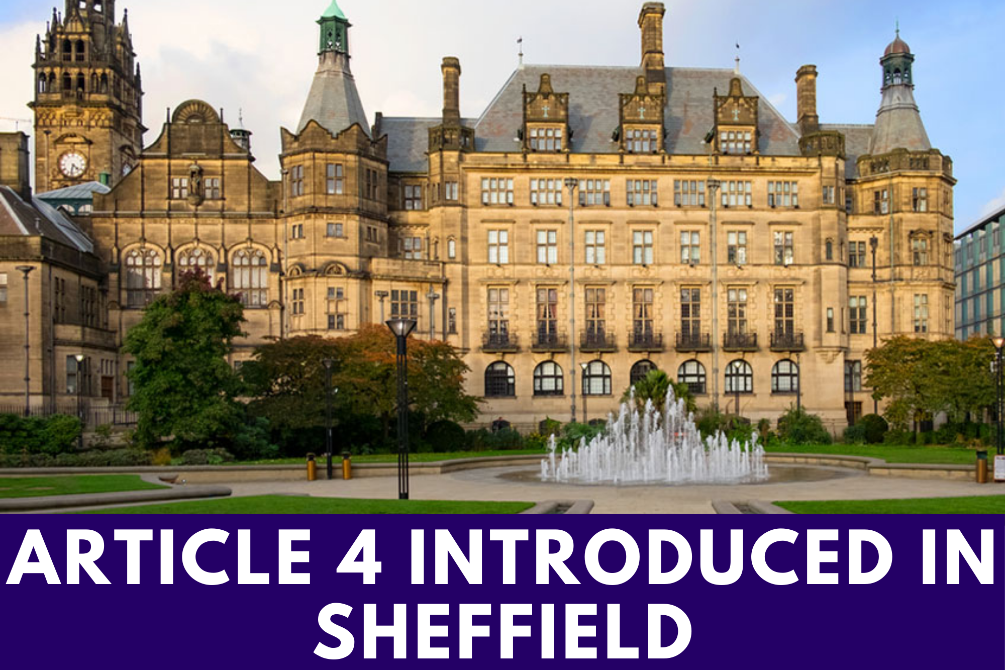 Article 4 Introduced In Sheffield