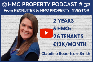 HMO Property Podcast with Claudine Robertson-Smith