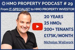 HMO Property Podcast with Nicholas Wallwork