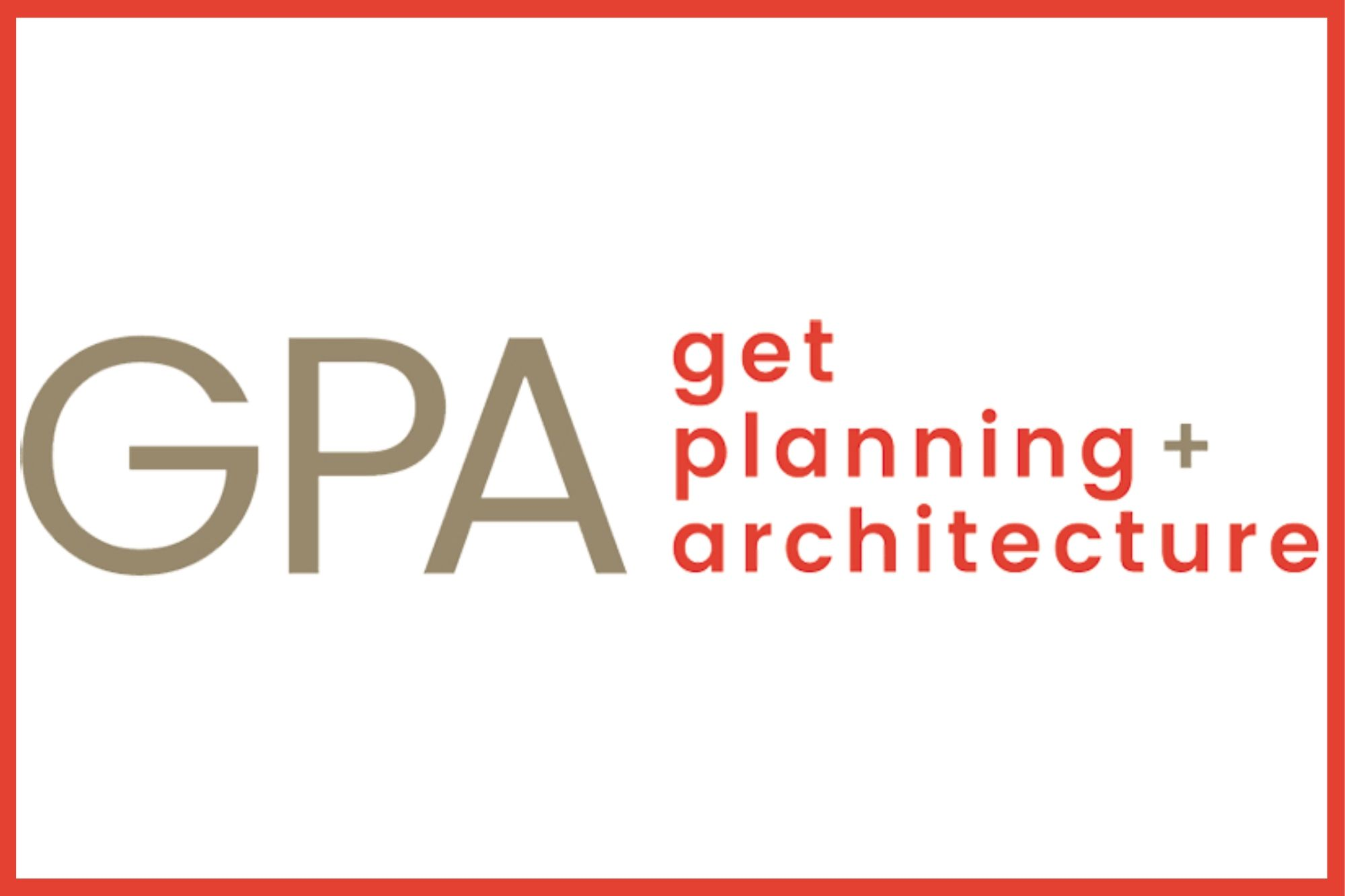 Get Planning and Architecture